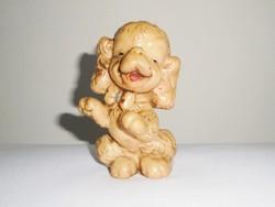 Retro játék sípolós gumi kutya kutyus - 1950-1970-es évekből
