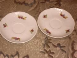 Zsolnay kávés tányér csészealátét párban