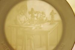 Herendi tányér ( fali )  ( DBZ 0088 )