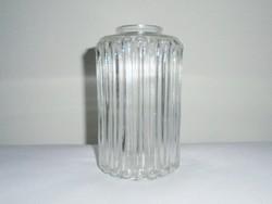Retro üveg csillár falikar lámpabúra lámpa bura - E14 kis foglalatú