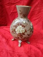 Bohémia 1890 -es évek, Csodálatos festett üveg váza
