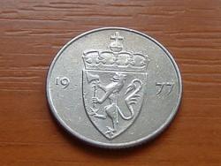 NORVÉGIA 50 ŐRE 1977