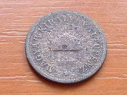 2 FILLÉR 1893 GYENGE