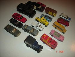 Régi Matcbox,Majorette,Szovjet,China,vegyes autók 17db