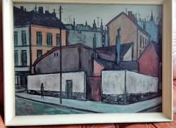 KOCH VILMOS (1927-2006): tájkép, olajfestmény