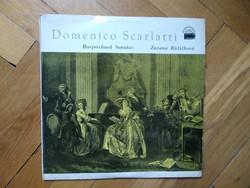 Hanglemez, Domenico Scarlatti- Harpsichord Sonatas