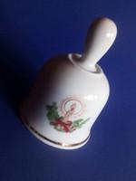 Apulum karácsonyi, ünnepi porceláncsengő