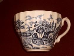 Meseszép angol teás csésze kis lepattanás