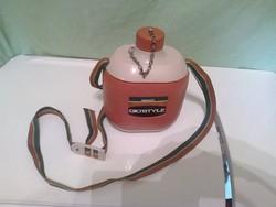 Kulacs, termosz, Gio'Style Safari 600, olasz, vintage,retro 600 ml.