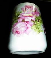 Zsolnay antik rózsás bögre