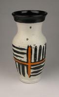 0R081 Régi Gorka Lívia kerámia váza 19 cm
