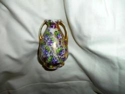 Eichwald antik porcelán ibolyás  váza
