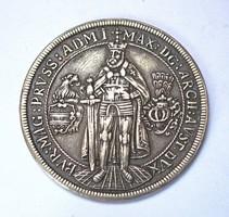 1603-as osztrák tallér másolat,