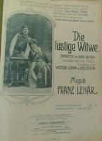 KOTTA/Franz Lehár:Die lustige Witwe