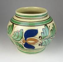 0S220 Korondi kerámia váza 13.5 cm
