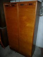 Régi dupla redőnyös irodai szekrény / komód eladó