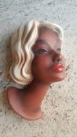 Art deco női fej.