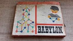 Régi Babylon Antik Építő Játék