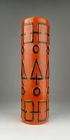 0S032 Retro TÓFEJ iparművészeti kerámia váza 30 cm