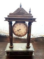 Antik bider virtus  kandalló óra