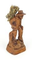 0R839 Francis Lascour rőzsehordó terrakotta szobor