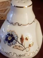 Zsolnay búzavirágos só szóró