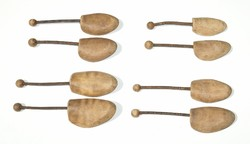 4 pár régi rúgós sámfa