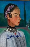 Pólya Iván ( 1889-1939): Baranyai kislány