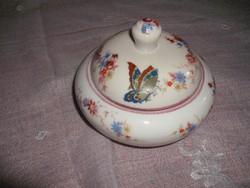 Drasche pillangós porcelán bonbonier