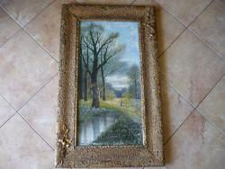 Németh szignóval ellátott gyönyörű festmény