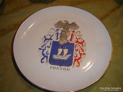 Fonyodi szép lapos tányér