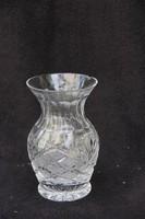 Csiszolt üveg váza