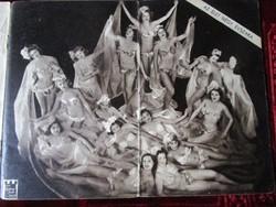 ARIZONA MULATÓ Müsor füzet 1939 UNIKÁD BUDAPEST BROADWAY CSODABÁR BÁR ÉJSZAKA KIRÁLYNÉ