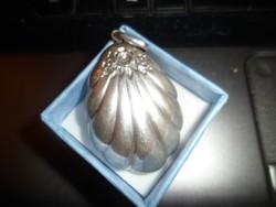 Szecessziós ezüst medál