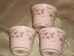 Kínai kávés csésze  3 darab