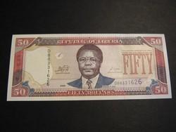LIBÉRIA 50 DOLLÁR 2009 UNC     /7/