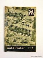 1970 március 21 Havilap  /  autó-motor   /  SZÜLETÉSNAPRA RÉGI EREDETI ÚJSÁG Szs.:  6471