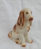 Hollóházi porcelán  kutya