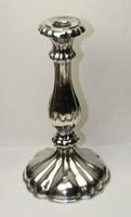 Bécsi 13 latos antik ezüst gyertyatartó 1863
