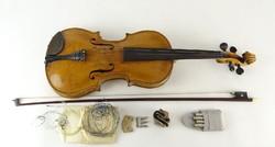 0O863 Jelzett Stainer hegedű tokkal vonóval
