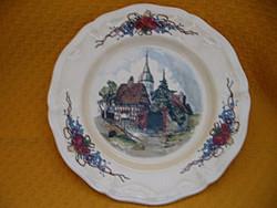 Sarreguemines OBERNAI tányér