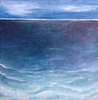 A nagy Hal - festmény közvetlenül művésztől