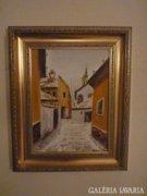 Losonci Lilla festmény, olaj, kortárs festmény