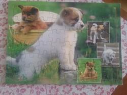 Fa kutyás puzzle 48 db-os