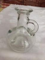 Üveg kis kancsó, kiöntő, palack 0,25 dl (NB)