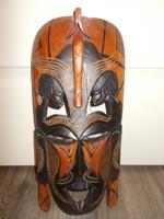 Egzotikus Afrikai fali dísz – maszk
