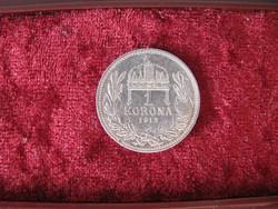 Ferenc József ezüst 1 korona 1912