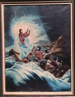 Vihar a Galileai tengeren