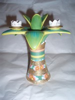Vintage Goebel porcelán gyertyatartó