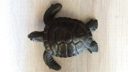 Teknősbéka figura nagy méretű, súlya 1kg!